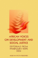African Voices on Development and Social Justice